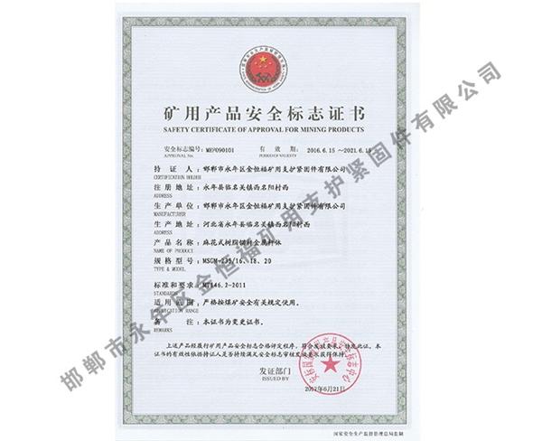 雷竞技Raybet官网产品安全标志证书 (3)