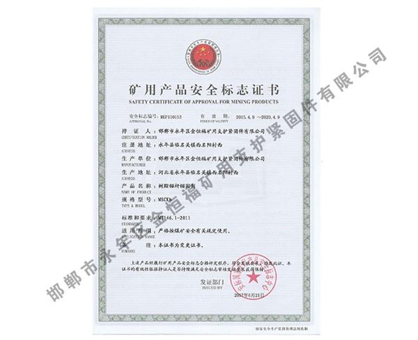 雷竞技Raybet官网产品安全标志证书 (6)